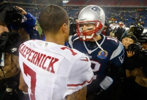 Colin Kaepernick, the Turlock Tornado with Tom Brady