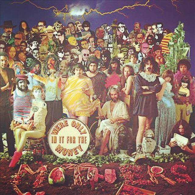 Image result for WE'RE ONLY IT FOR THE MONEY-The Mothers Of Invention